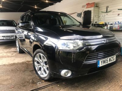 Mitsubishi Outlander 2.0 PHEV GX4h 5dr Auto Estate Petrol / Electric Hybrid Black at 1st Choice Motors London