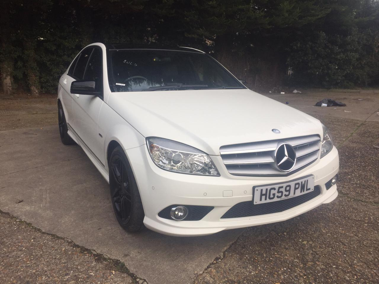 2009 Mercedes-Benz C Class 1.8 C250 CGI BlueEFFICIENCY Sport 4dr Auto