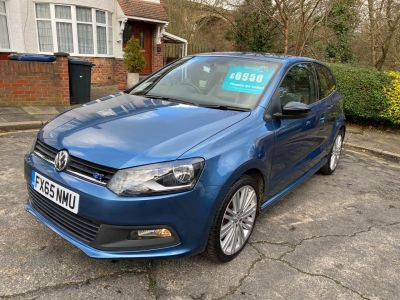 Volkswagen Polo 1.4 TSI ACT BlueGT 3dr Hatchback Petrol Blue at 1st Choice Motors London