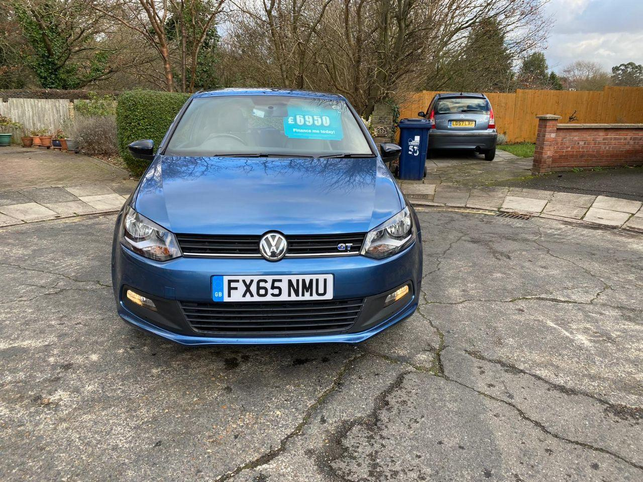 2015 Volkswagen Polo 1.4 TSI ACT BlueGT 3dr