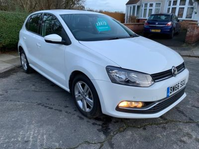 Volkswagen Polo 1.0 Match 5dr Hatchback Petrol White at 1st Choice Motors London