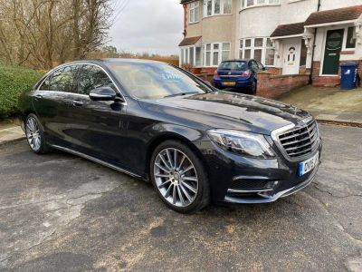 Mercedes-Benz S Class 3.5 S400L Hybrid AMG Line 4dr Auto Saloon Petrol / Electric Hybrid Black at 1st Choice Motors London